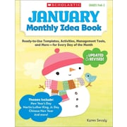January Monthly Idea Book Karen Sevaly Paperback