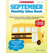 September Monthly Idea Book, Grades PreK-3 Karen Sevaly Paperback