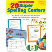 20 Super Spelling Centers Erica Bohrer Paperback