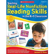 Teaching Real-Life Nonfiction Reading Skills in the K-1 Classroom Barbara Pinto Paperback