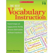The Next Step in Vocabulary Instruction Karen Bromley Paperback