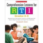 Comprehension Lessons for RTI: Grades 3-5 Elizabeth Stein Paperback
