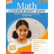 Math Lessons for the SMART Board Scholastic Teaching Resources Paperback Grades 4-6
