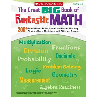 The Great BIG Book of Funtastic Math Scholastic Paperback