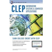 CLEP Information Systems & Computer Applications Book + Online (CLEP Test Preparation) Paperback