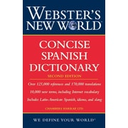 Webster's New World Concise Spanish Dictionary, Second Edition Harraps Paperback