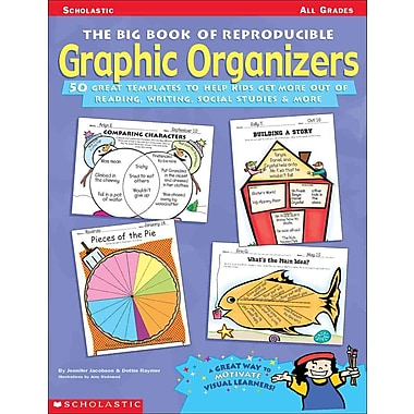 The Big Book of Reproducible Graphic Organizers Jennifer Jacobson, Raymer Dottie Paperback