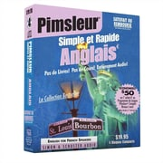 Pimsleur Simple et Rapide Anglais Audio Book [CD] (French Edition) Paul Pimsleur  CD