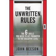 The Unwritten Rules John Beeson  Hardcover