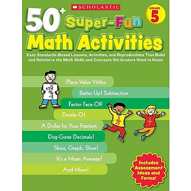 50+ Super-Fun Math Activities Joseph D'agnese Paperback
