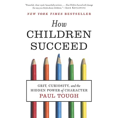 How Children Succeed Paul Tough Paperback, Used Book, (0544104402)