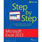 Microsoft Excel 2013 Step by Step (Step by Step (Microsoft)) Curtis Frye D. Paperback