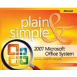 2007 Microsoft® Office System Plain & Simple Jerry Joyce, Marianne Moon Paperback