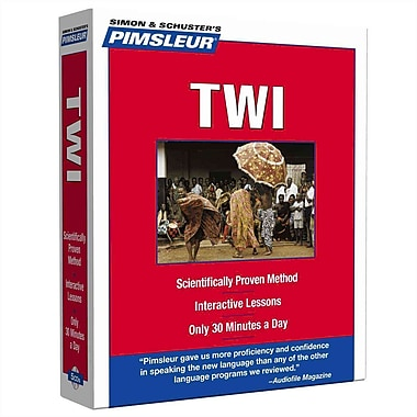 Twi, Compact: Learn to Speak and Understand Twi with Pimsleur Language Programs Audiobook, CD
