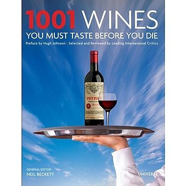 1001 Wines You Must Taste Before You Die Universe Hardcover
