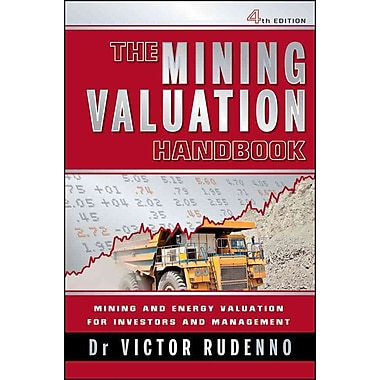The Mining Valuation Handbook: Mining and Energy Valuation for Investors and Management Hardcover, Used Book, (0730377078)
