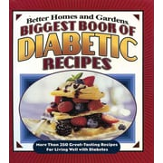 Biggest Book of Diabetic Recipes Better Homes and Gardens Plastic Comb