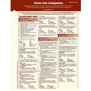Italian Verb Conjugation Card (Foreign Language Verb Conjugation Cards) Marcel Danesi Misc. Supplies
