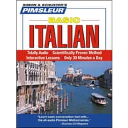 Italian, Basic: Learn to Speak and Understand Italian Pimsleur CD