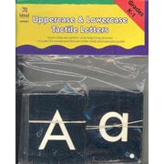 Uppercase & Lowercase Tactile Letters Paperback