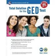GED®Test, REA's Total Solution For the New 2014 GED® Test (GED® & TABE Test Preparation) Paperback