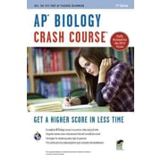 AP Biology Crash Course Book + Online (Advanced Placement (AP) Crash Course) Paperback