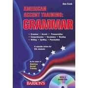 American Accent Training: Grammar with Audio CDs Ann Cook Paperback