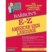 E-Z American Sign Language (Barron's E-Z Series) Paperback