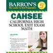 Barron's CAHSEE--Math: California High School Exit Exam Jeff Hruby Paperback