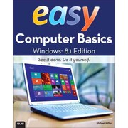 Easy Computer Basics, Windows 8.1 Edition Michael Miller Paperback