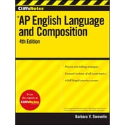 CliffsNotes AP English Language and Composition, 4th Edition - PB