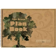 Carson Dellosa The Green Plan Book Record/Plan Book