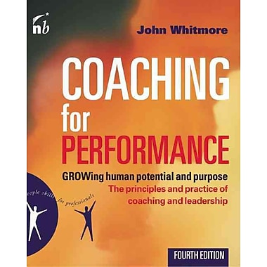Coaching for Performance, Used Book, (1857885354)