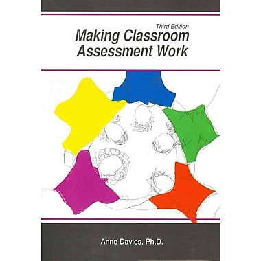 Making Classroom Assessment Work, New Book, (1935543886)