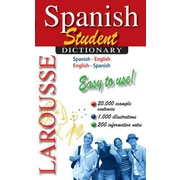 Larousse Student Dictionary: Spanish-English/English-Spanish