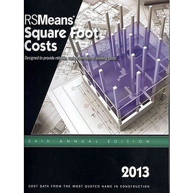 Rs Means Square Foot Costs 2013 Staples