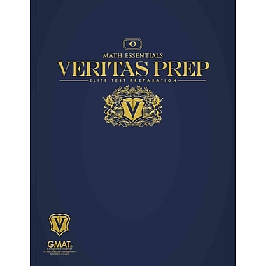 Math Essentials (Veritas Prep GMAT Series), New Book, (1936240005)