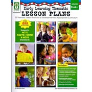 Early Learning Thematic Lesson Plans, Grades PK - 1