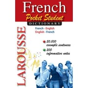 Larousse Pocket Student Dictionary French-English/English-French