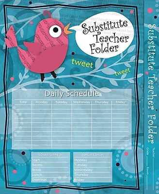 Substitute Teacher Folder Song Bird 2013 Wallet