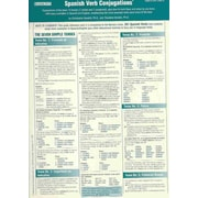 Spanish Verbs Conjugation Card (Foreign Language Verb Conjugation Cards) Pamphlet