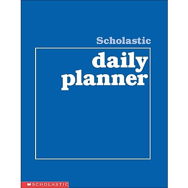 Scholastic Daily Planner Scholastic Teaching Resources Spiral-bound