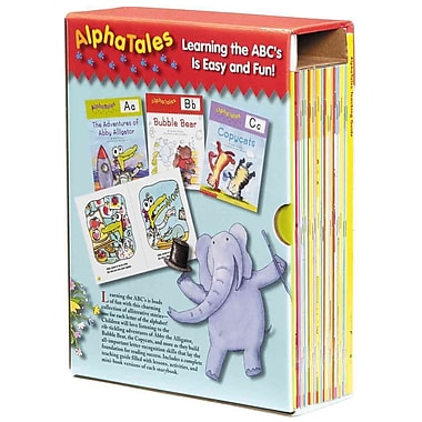 AlphaTales Box Set Scholastic, Scholastic Teaching Resources Paperback