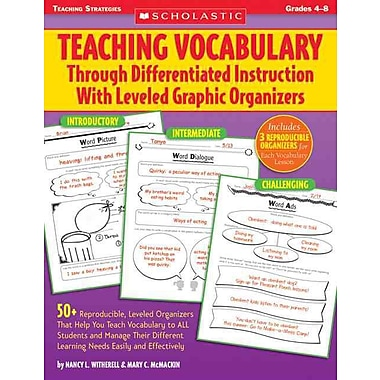 Teaching Vocabulary Through Differentiated Instruction With Leveled Graphic Organizers