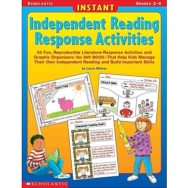 Instant Independent Reading Response Activities Laura Witmer Paperback