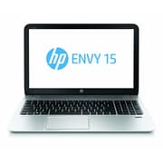 HP® Envy 15-j185nr 15.6 LED LCD Notebook, Intel Core i5-4200M 2.5 GHz, Natural Silver