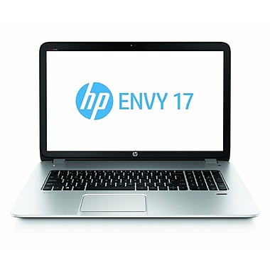 HP® Envy 17-j120us 17.3in. WLED Notebook, 4th Gen Intel Core i7-4700MQ 2.4 GHz, Natural Silver