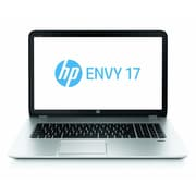 HP® Envy 17-j120us 17.3 WLED Notebook, 4th Gen Intel Core i7-4700MQ 2.4 GHz, Natural Silver