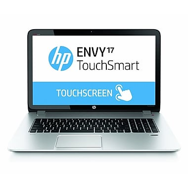 HP® Envy TouchSmart 17-j130us 17.3in. LED LCD Notebook, Intel Quad-Core i7-4700MQ 2.4 GHz