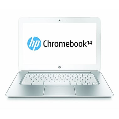 HP® Pavilion Chromebook q070nr 14in. LED LCD Notebook W/T-Mobile 3G, Intel 2955U 1.4 GHz, Snow White
